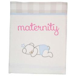 Κουβέρτα Baby Star Baby bear πικέ με φάσα 75 x 100cm