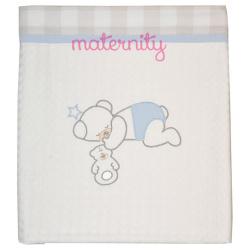 Κουβέρτα Baby Star Baby Bear πικέ με φάσα 100 x 150cm