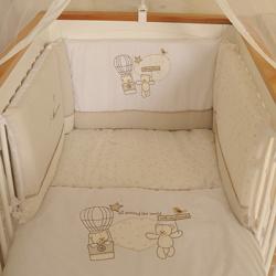 Baby Star Σετ προίκας Αερόστατο Πάπλωμα - Πάντα - Κουνουπιέρα
