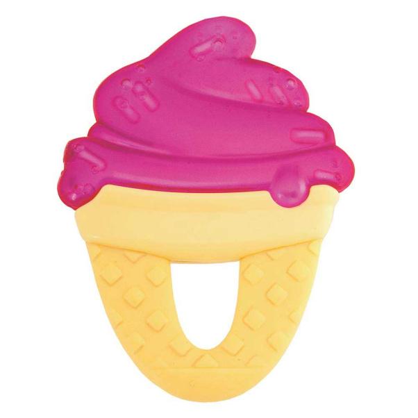 Chicco gel Fresh Relax Ice Cream Teether - Fuchsia