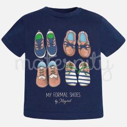 Mayoral μπλουζα κοντομάνικη παπουτσια συμπαν 01013-36