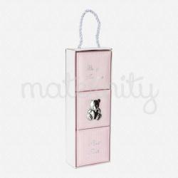 Mayoral σετ κουτιά ροζ μπεμπε 19422-10