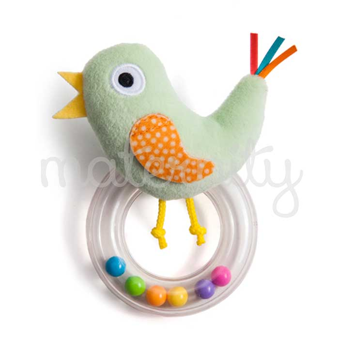Taf Toys Cheeky Chick λούτρινη κουδουνίστρα