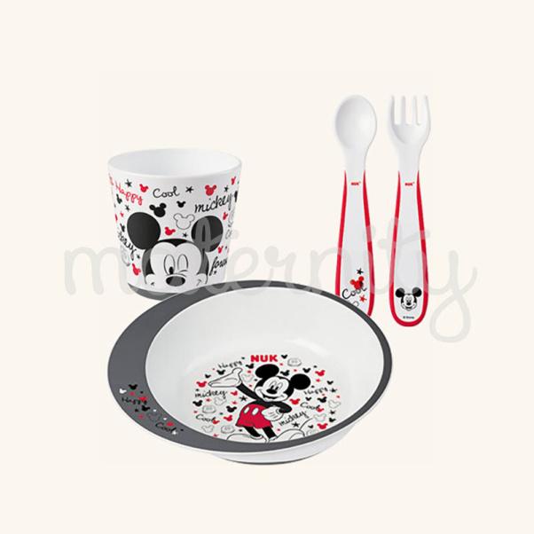 NUK σετ φαγητού Disney Mickey