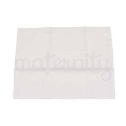 Μαξιλαροθήκη για βρεφικό μαξιλάρι Baby Star με δαντέλα λευκή