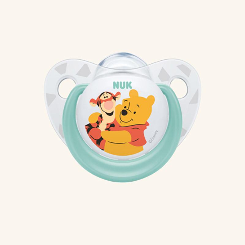 NUK πιπίλα Winnie the Pooh σιλικόνης 0-6m