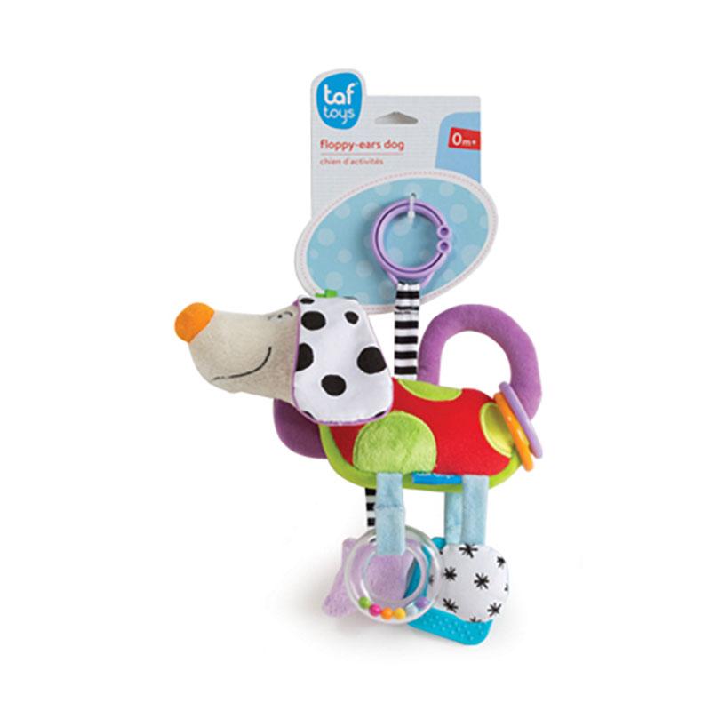Taf Toys κρεμαστό κουδουνίστρα σκυλάκι Floppy Ears Dog