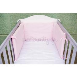 Baby Star πάντα για κρεβάτι μονόχρωμη Ροζ