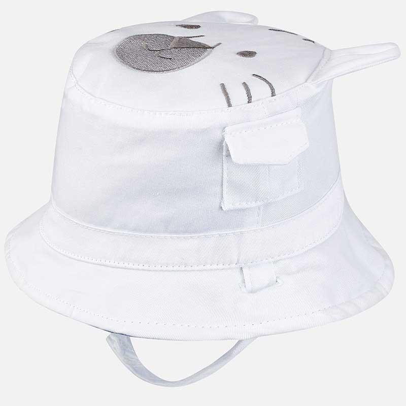 Καπέλο διπλής όψης σε λευκό χρώμα Mayoral 09065-68