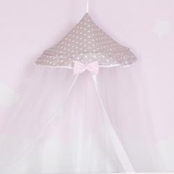 Κουνουπιέρα κούνιας Baby Star Ροζ Σύννεφο στρογγυλή