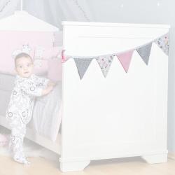 Διακοσμητικά σημαιάκια Baby Star Norma The Fox