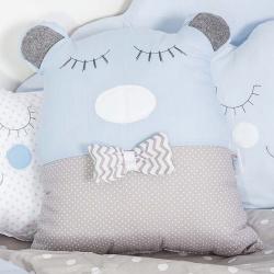 Διακοσμητικό μαξιλάρι αρκούδος Σύννεφο σιέλ Baby Star