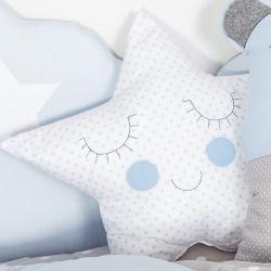 Διακοσμητικό μαξιλάρι αστέρι Σύννεφο σιέλ Baby Star