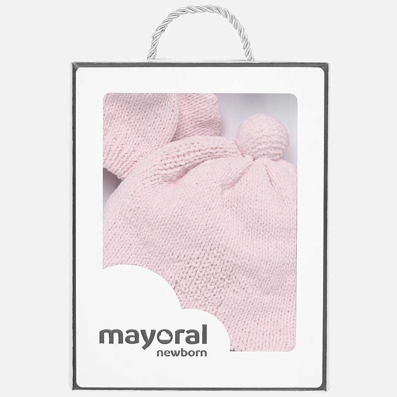 Σετ σκούφος και γάντια πομ πον Mayoral 09178-90