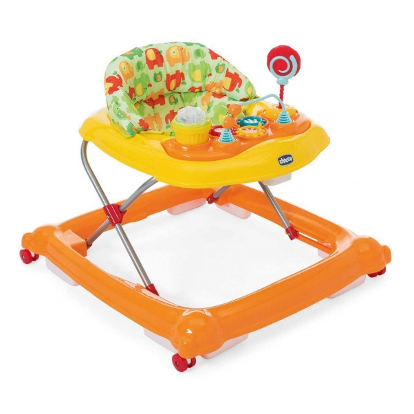 Chicco Baby Walker Circus Orange Wave 79441-98