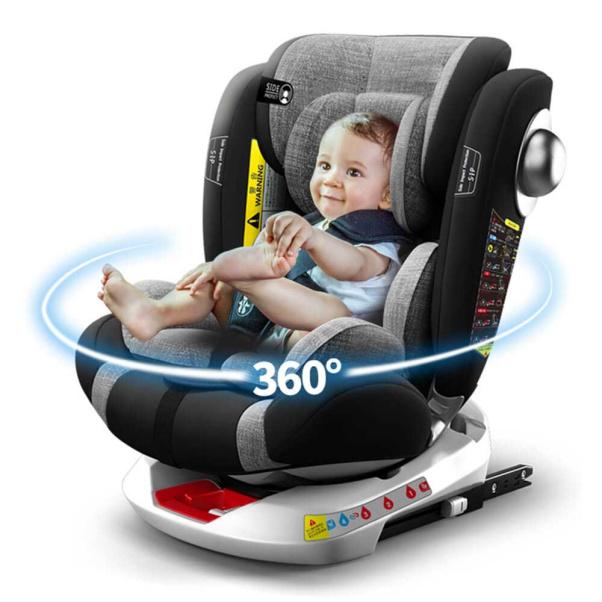 Κάθισμα αυτοκινήτου Bebe Stars Isofix Macan 360° Navy