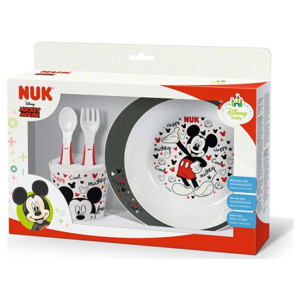 NUK Training Food Set Disney Mickey Mouse