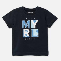 Μπλούζα κοντομάνικη τύπωμα Mayoral 00106-38