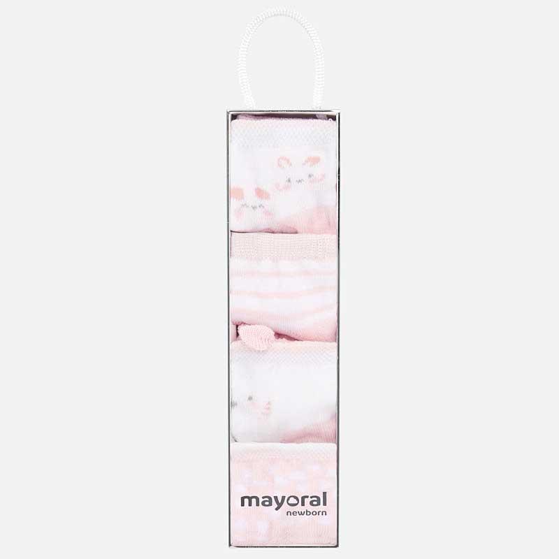 Σετ 4 καλτσάκια Mayoral 09240-13
