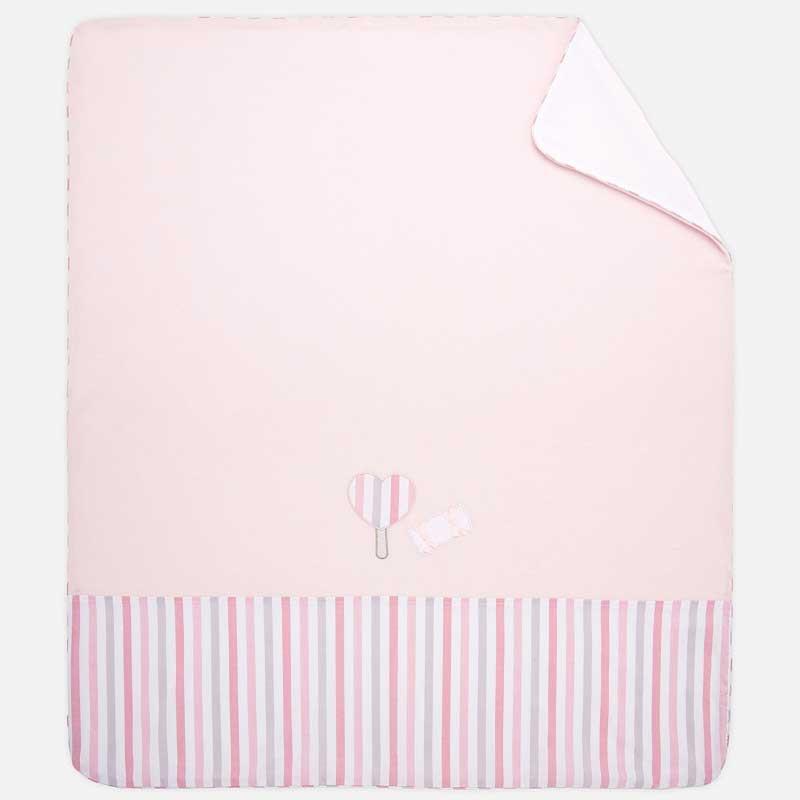 Κουβέρτα με απλικέ Mayoral 09662-94