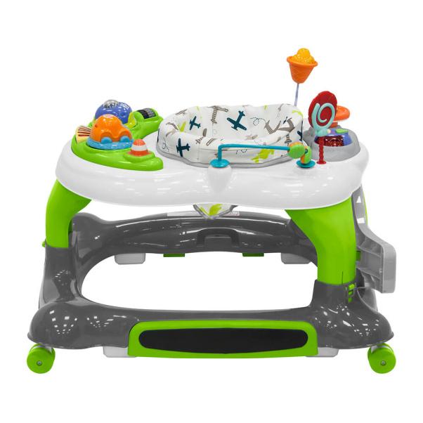 Bebe Stars Baby Walker & Playcenter Airplane 4in1 4217