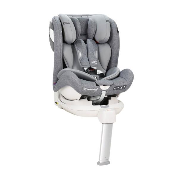 Κάθισμα αυτοκινήτου Bebe Stars Isofix 360° APEX Grey