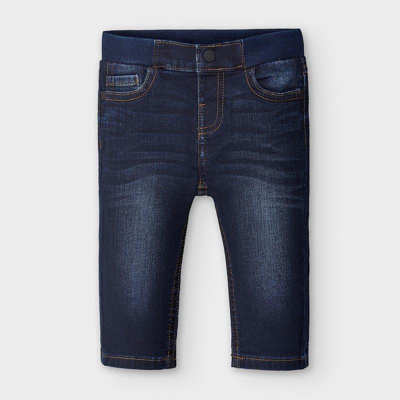 Mayoral παντελόνι μακρύ τζιν regular fit 00030-25