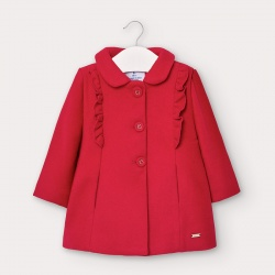 Mayoral παλτό με βολάν για κορίτσι 02406-83