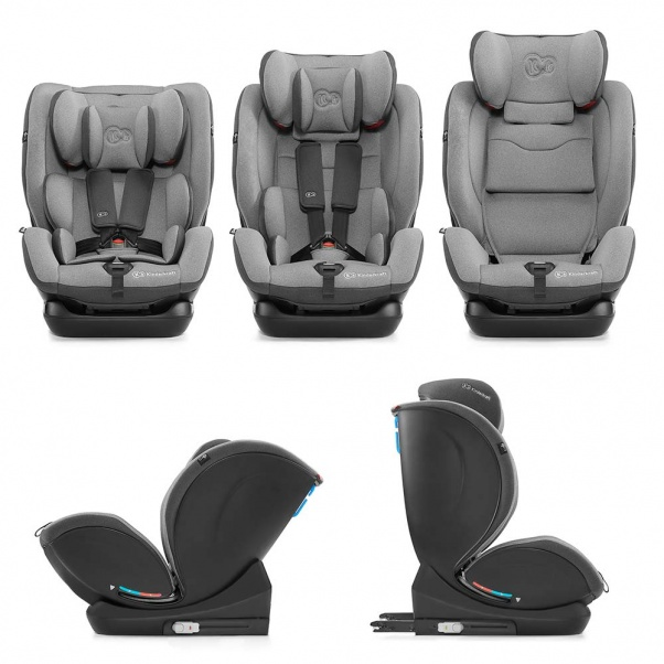 Kinderkraft MyWay κάθισμα αυτοκινήτου Isofix 0-36kg Grey