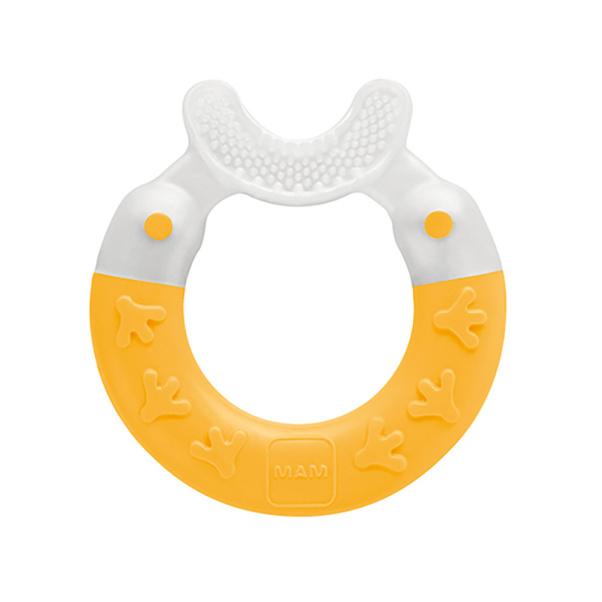 Mam Bite & Brush Teether in Yellow - 3m+