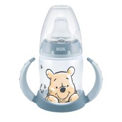 NUK εκπαιδευτικό μπιμπερό First Choice  πλαστικό Winnie 150ml με 2 λαβές