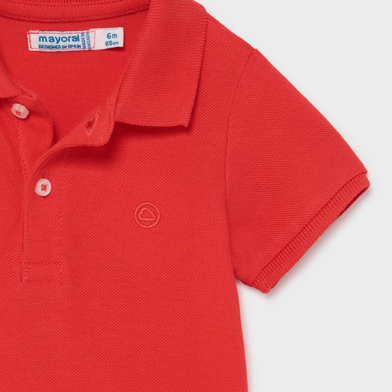 Μπλούζα παιδική πόλο κοντομάνικη Mayoral 00102-66