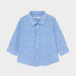 Παιδικό πουκάμισο μακρυμάνικο λινό Mayoral 00117-77