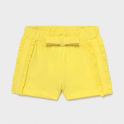 Παντελόνι κοντό παιδικό για κορίτσι κίτρινο Mayoral 01227-54
