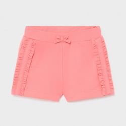 Παντελόνι κοντό παιδικό για κορίτσι ροζ Mayoral 01227-55