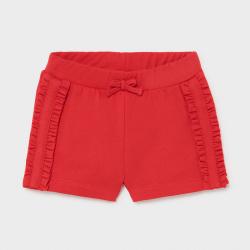 Παντελόνι κοντό παιδικό για κορίτσι κόκκινο Mayoral 01227-57