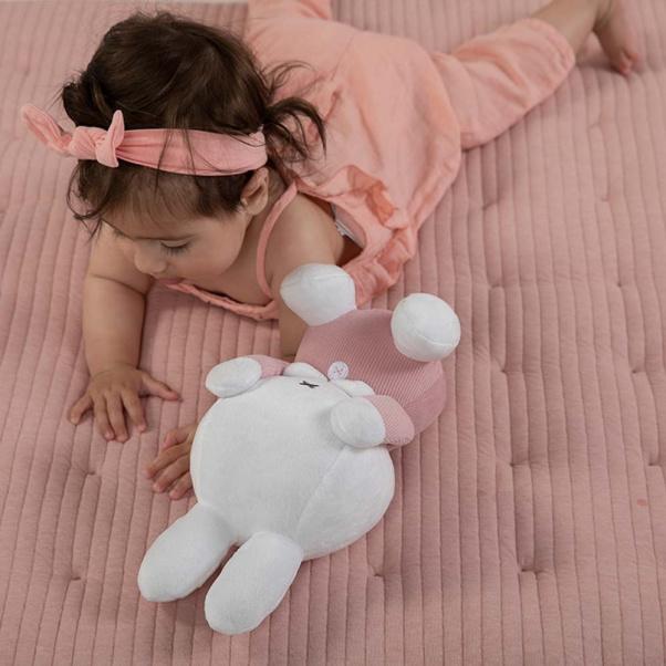 Λουτρινο αρκουδάκι με μαγνητες στα μάτια 30cm Miffy pink