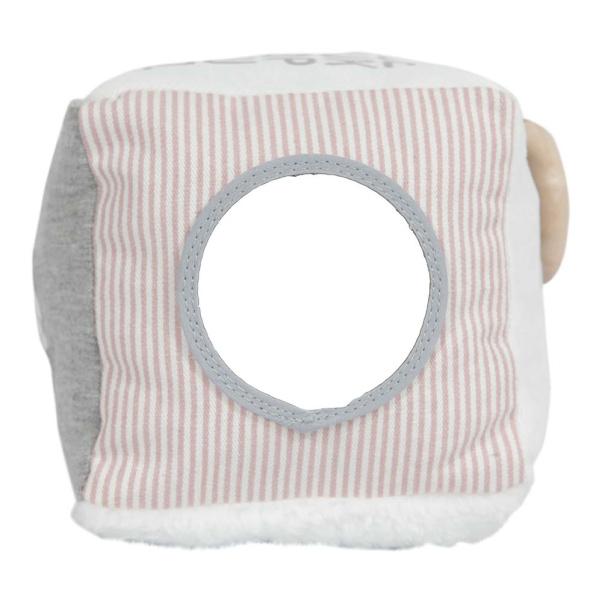 Κύβος δραστηριοτητων με εσωτερικό κουδουνάκι Μiffy Pink