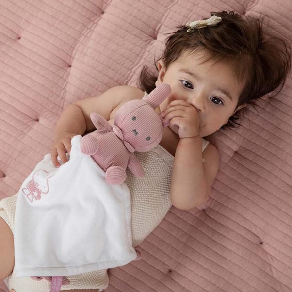 Πανάκι παρηγοριάς νανι Miffy pink