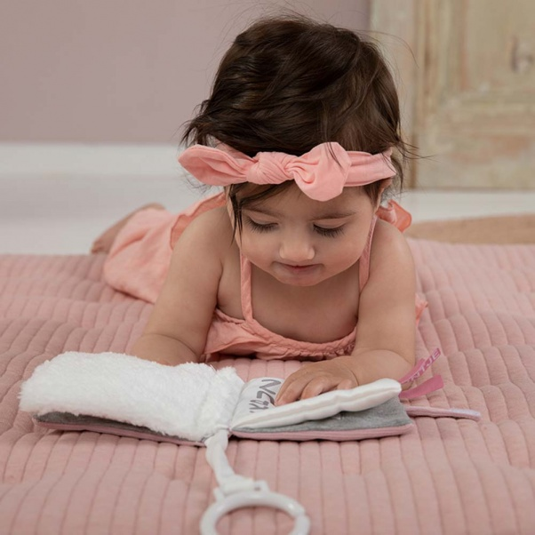 Λούτρινο παιχνίδι βιβλιό Μiffy pink