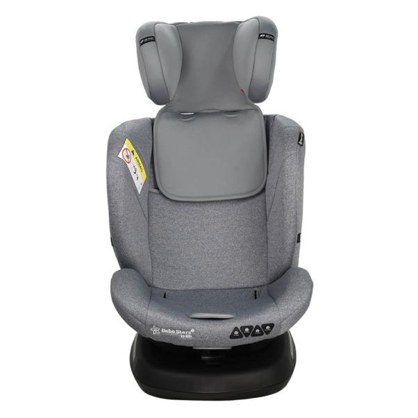 Κάθισμα αυτοκινήτου Bebe Stars Isofix 360° Levante Plus Grey