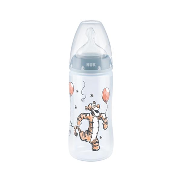 NUK μπιμπερό First Choice πλαστικό Winnie  300ml με θηλή σιλικόνης 0-6m