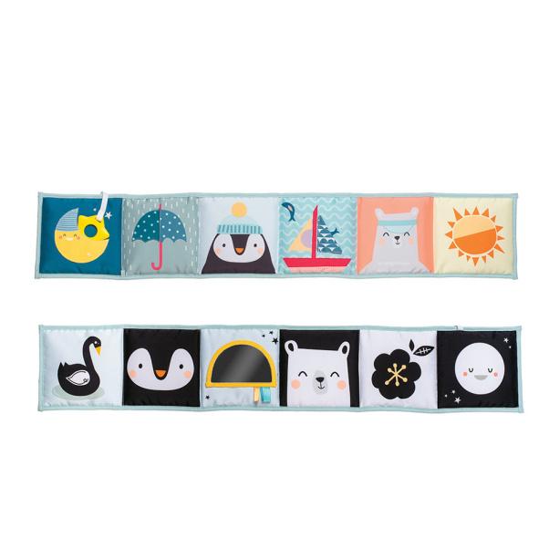 Taf Toys North Pole εκπαιδευτικό μαλακό βιβλίο