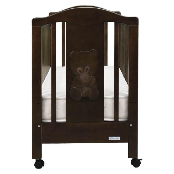 Βρεφικό κρεβάτι Bebe Stars Polar brown 451-01