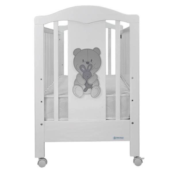 Βρεφικό κρεβάτι Bebe Stars Polar White 451-02