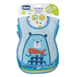 Chicco Easy Meal Bib 6m+ Τραχηλιά