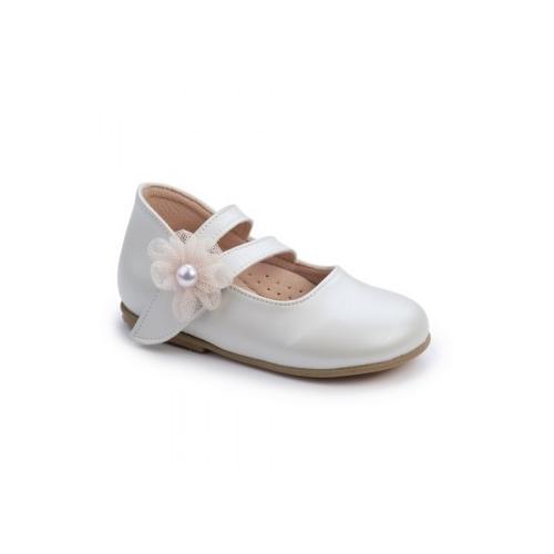 Παιδικό παπούτσι για κορίτσι Gorgino εκρού-σομόν 2254-2