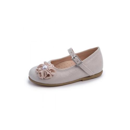 Παιδικό παπούτσι για κορίτσι Gorgino εκρού-σοκολά 2255-1