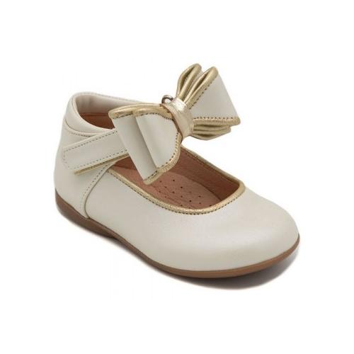 Παιδικό παπούτσι για κορίτσι εκρού Gorgino 2264-14