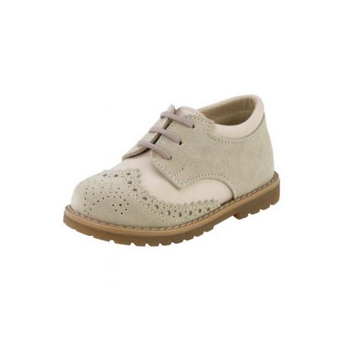 Παιδικό παπούτσι αμπιγιέ για αγόρι εκρού Gorgino 3025-1